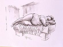 La Venere di Ostuni1 - Guido Ferrari - Carboncino - 280€