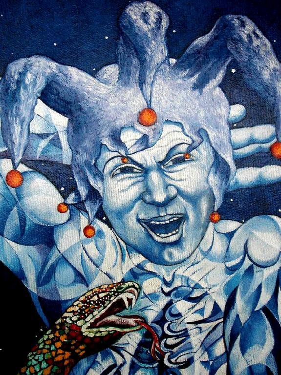 Zarathustra particolare vendita quadro pittura - Pittura particolare ...