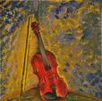 il violino - Marisa Milan - Acrilico