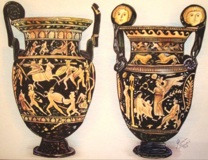 vasi dell 39 antica grecia vendita quadro pittura artlynow