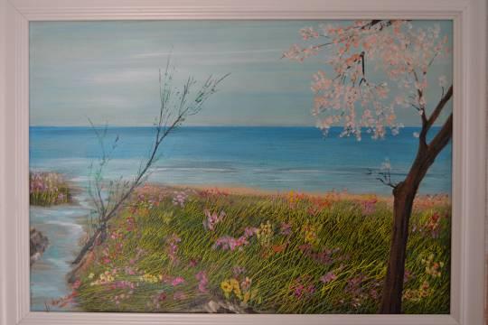 primavera  - Marino  Marconi - Acrilico