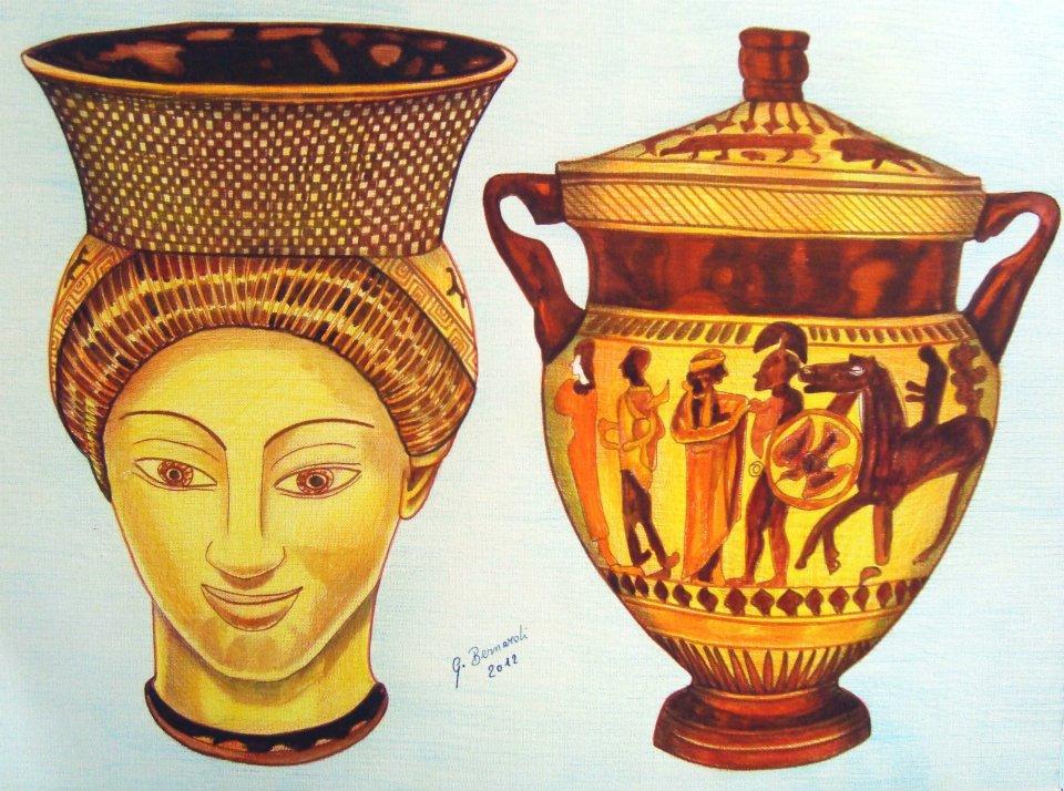 Arte Greca Vendita Quadro Pittura Artlynow