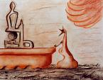 pensieri alla ferma - daniele rallo - Pastelli - 30 €
