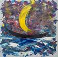 Verso un paese senza nome - Girolamo Peralta - Olio - 250 €