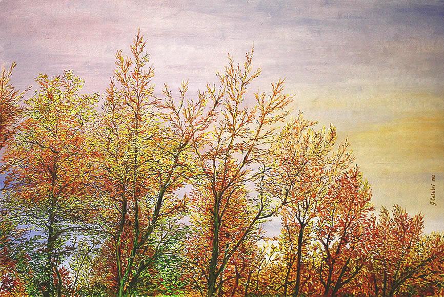 Vendita quadri olio dipinti vendita quadri online pittori for Alberi in vendita