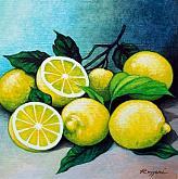 Limoni - Salvatore Ruggeri - Tempera