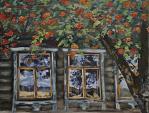 Finestra - Olga Maksimova - Olio
