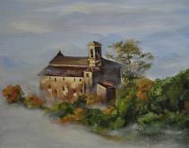 Un castello - Olga Maksimova - Olio - Venduto!
