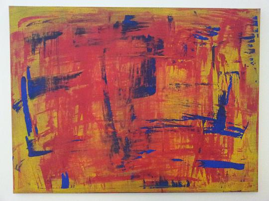 Yellow_blue_red - Luca Trifone - Acrilico - 650 €