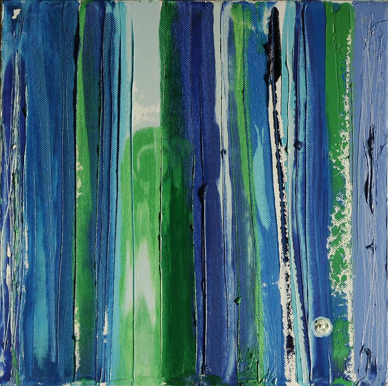 acqua sorgiva - giovanna fabretti - Olio