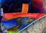 monoliti - daniele rallo - pastello - 50 €