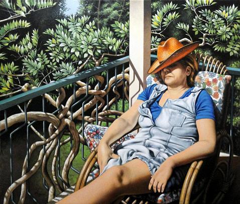 Grazia al sole (1) - Salvatore Ruggeri - Olio