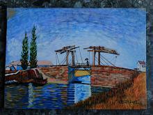 Il ponte levatoio - Carlo Bertani - Betrix - Acrilico