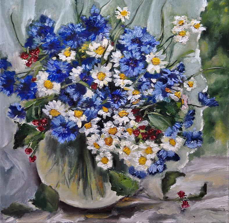 Quadri ad olio fiori kk15 regardsdefemmes for Dipinti ad olio fiori