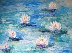 Laddove cresce un fiore, la Vita si manifesta e sboccia l'Amore! - anna casu - Acrilico