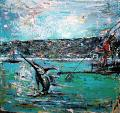 La pesca del pescespada - tiziana marra - Olio