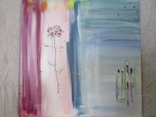 rosa - giovanna fabretti - Acrilico