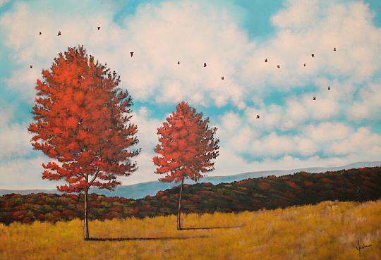 Colori d'autunno - Erino Sciarrino - Acrilico - 150 €