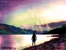 Aurora boreale 2 - Michele De Flaviis - Digital Art