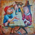 """""""DUELLO"""" - Viktoriya Bubnova - Olio"""