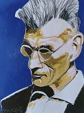 Ritratto di Samuel Beckett - Gabriele Donelli - Acrilico