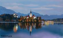 Riflessi sul lago - Michele De Flaviis - Digital Art