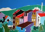 Paesaggio - Gabriele Donelli - Acrilico