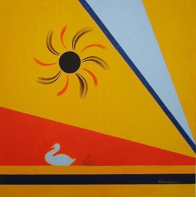 L'ombra - Girolamo Peralta - Acrilico