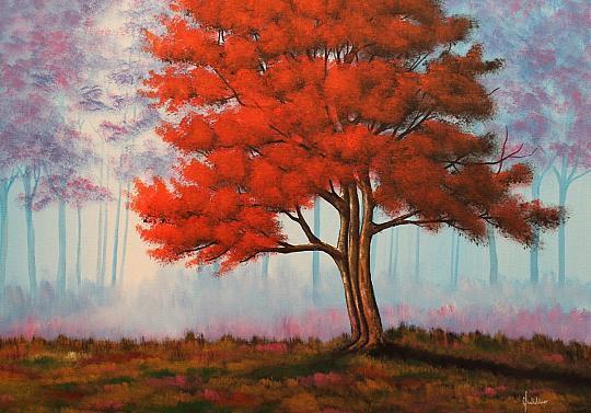 Acero palmatum - Erino Sciarrino - Acrilico - 110 €