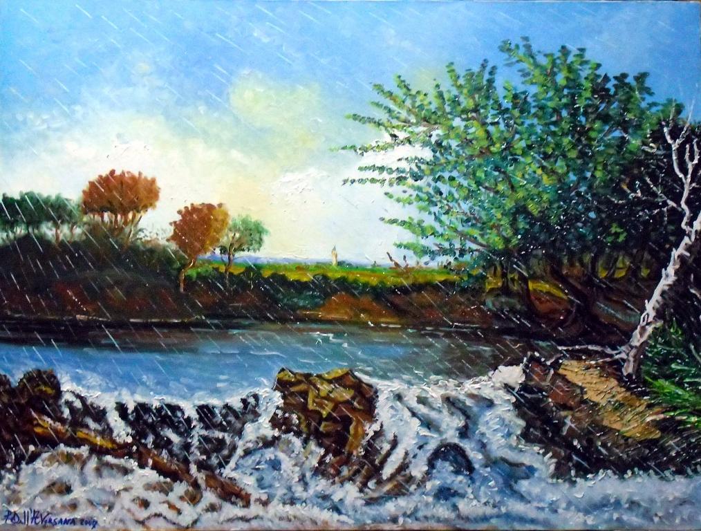 Mare in Tempesta - Pietro Dell Aversana - Olio - 400 €