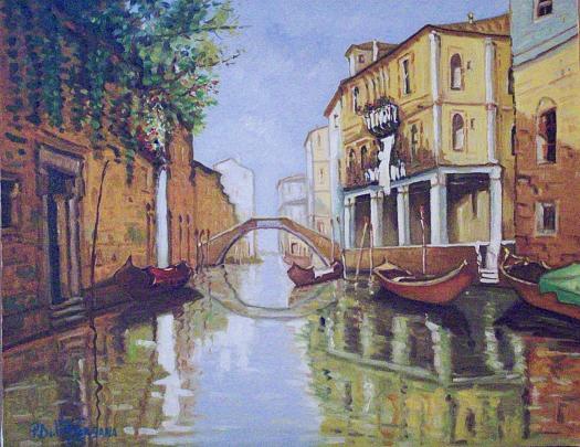 Venezia 2005 - Pietro Dell Aversana - Olio - 300 €