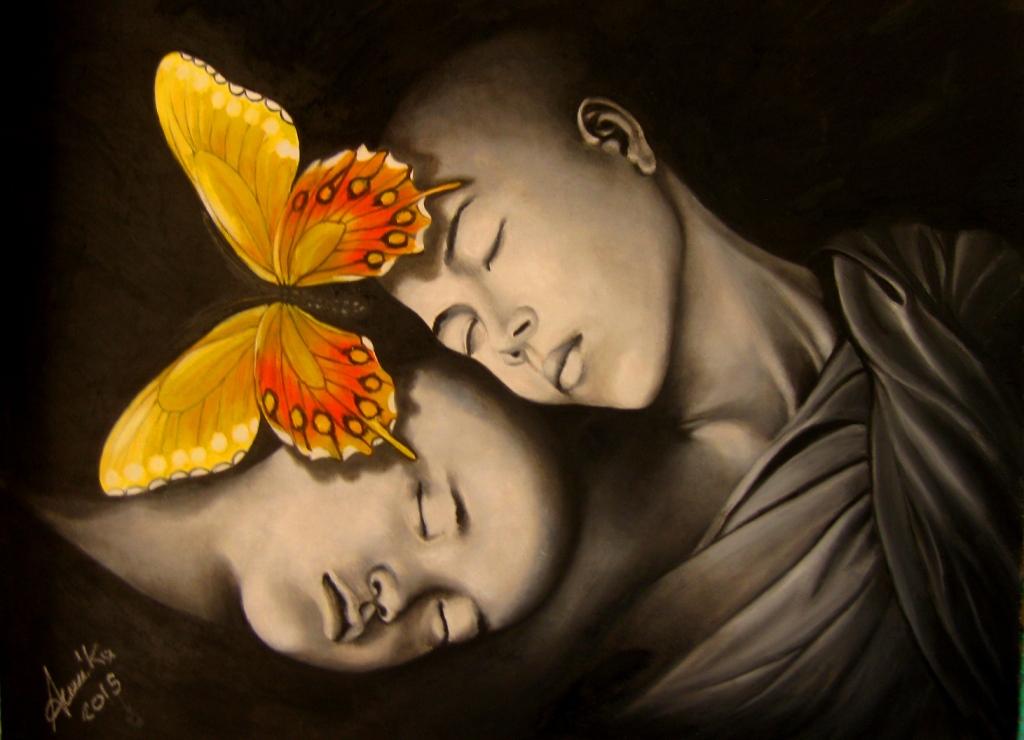 Fiori di loto vendita quadro pittura artlynow for Fiori di ciliegio dipinti