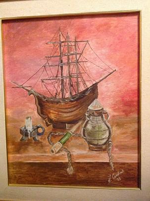Cose da Marinaio - fabio Cardinali - Olio - 700 €