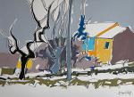 Nevicata a Castelvetro - Gabriele Donelli - Acrilico -  €