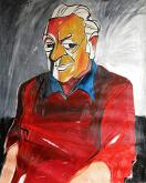 Ritratto di Renato Guttuso - Gabriele Donelli - Olio