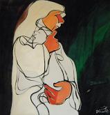 Maternità - Gabriele Donelli - Olio