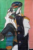 Ritratto di Francis Bacon - Gabriele Donelli - Olio