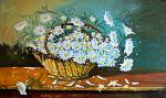 Margherite bianche - Pietro Dell Aversana - Olio - 795€