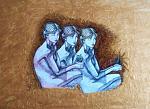 Studio per nudo femminile - Pietro Dell Aversana - Olio - 120 €