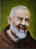 Padre Pio - Valter Carnevale - Acrilico - 250€