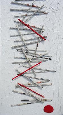 Sticks, stone and...news - RITA SCARPELLI - mista - 350 €