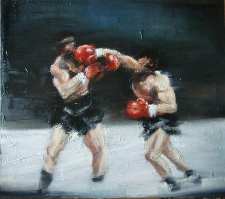 Fino in fondo - John Mauricio Meza Rojas - Olio - 1500 €