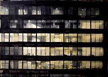 Office buildingII - martinovic svetislav - Acquerello