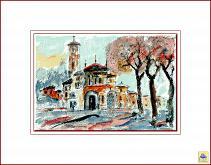Santuario - Aurelio Villanova - Acrilico - 145€