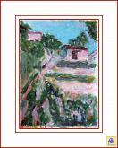 Omaggio a Modigliani - Aurelio Villanova - Acrilico - 95€