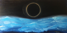 Eclissi, gli eventi si ripetono - Marco Antonacci - Olio - 240€
