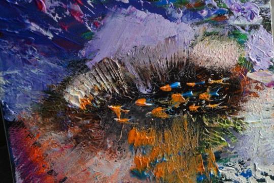lake colors - Giulia De Martino - Acrilico