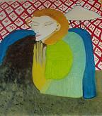 Dama Liberty - Alba  Andò - Olio - 1500,00€