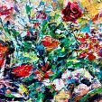 Bouquet - tiziana marra - tecnica mista - 320,00€