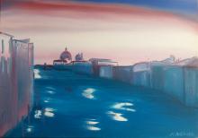 Senza pensieri (Venezia) - Marco Antonacci - Olio